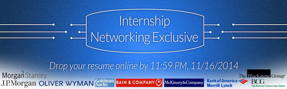 Internship Networking Exclusive